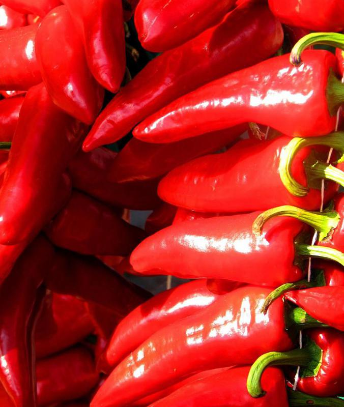 "Only peppers grown in the Espelette region may be labeled as ""piment d' Espelette."""