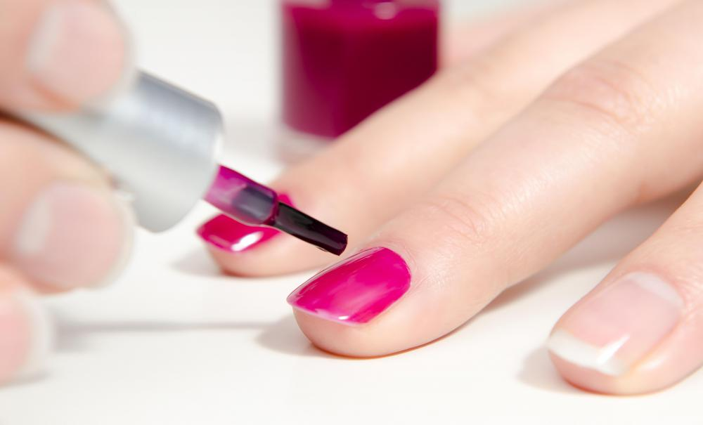 A gift certificate for a spa manicure is a nice Valentine's Day gift.