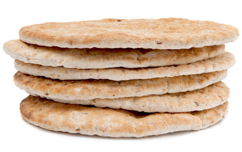 """Pocket bread"" typically refers to flatbread, such as pita, that puffs up during baking."