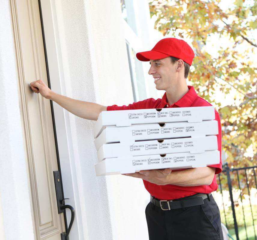 Ordering pizza is often a fast way to provide food for a birthday party.