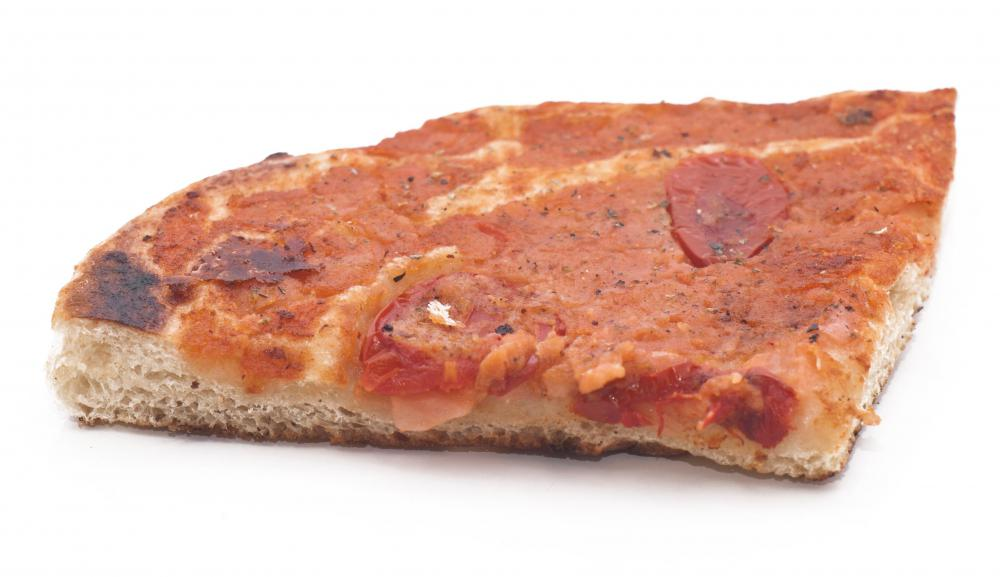 "In the phrase, ""the last slice of pizza,"" the word ""pizza"" is in the genitive case."