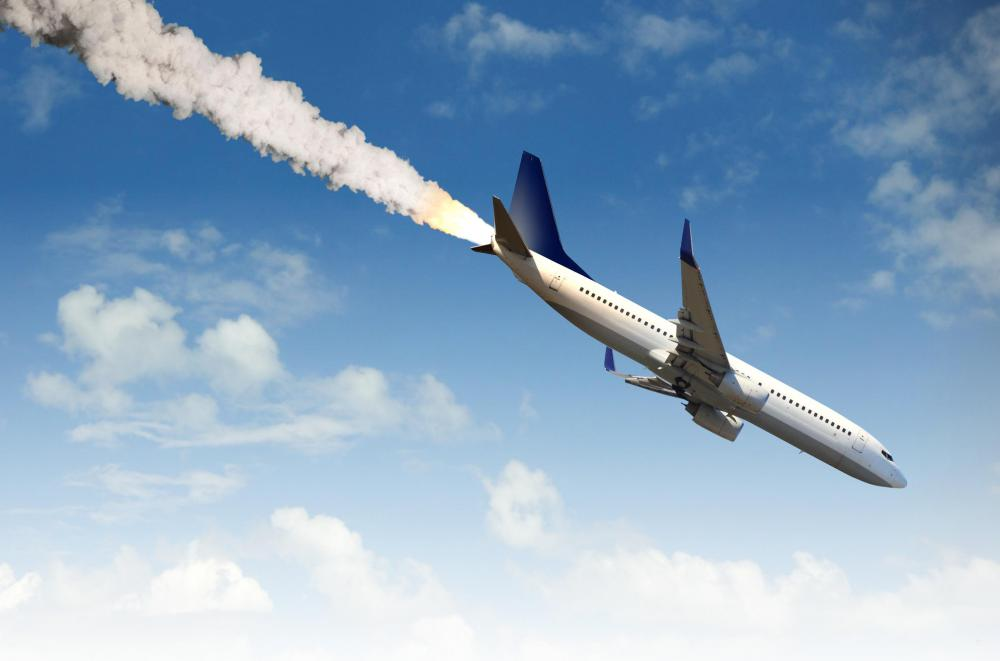 An airline crash caused by mechanical tampering is an example of an act of man.