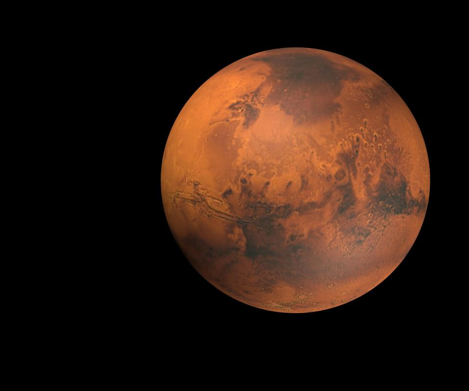 In the summer, the surface of Mars can reach a high of 68 degrees Fahrenheit, in the winter it gets down to -220 degrees Fahrenheit.