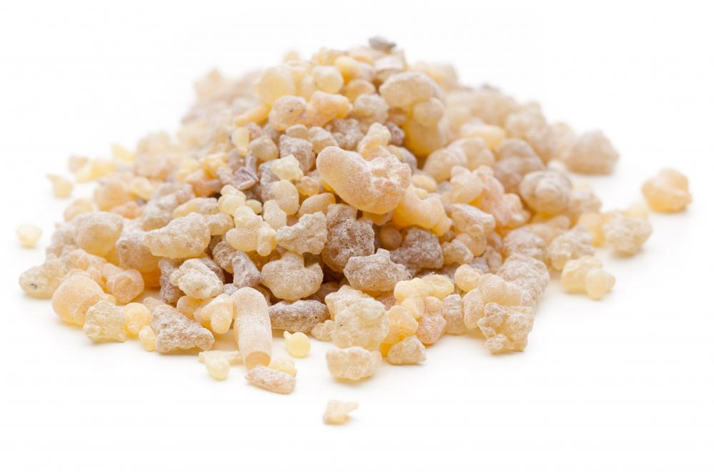 Frankincense, which was traded on the incense route.