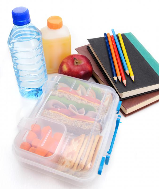 Tax deductible receipts may be given to individuals who donate school supplies to needy children.