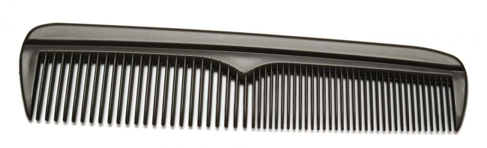 Some people find plastic combs are too stiff for combing their beards.