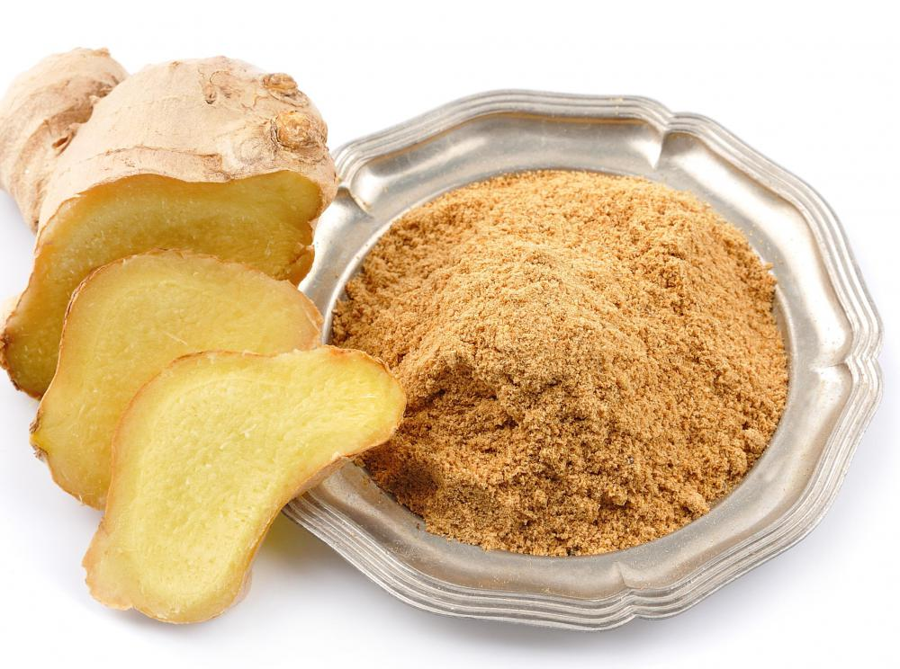 Ginger essential oil is made from ginger root.