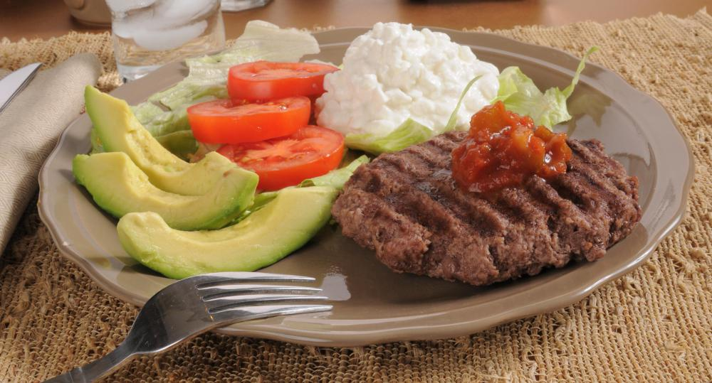 A healthy diet must include high-quality sources of protein, such as dairy products or lean meats.