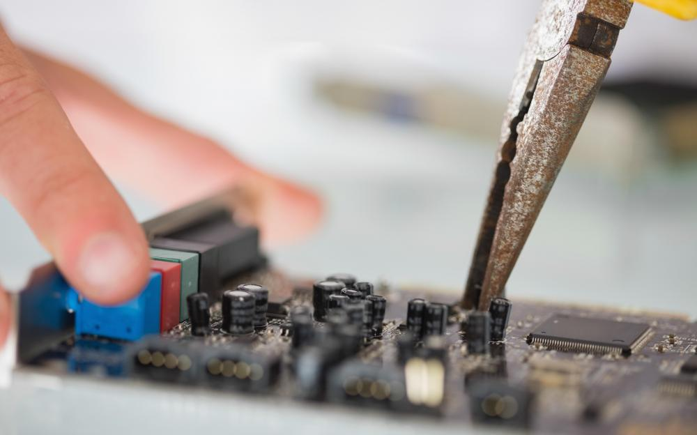 Computer maintenance and repair is a basic part of a computer service technician's job.