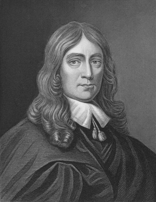John Milton wrote sonnets using blank verse.