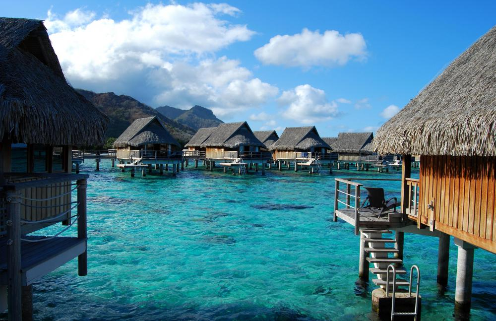 Some international travel agents specialize in luxury vacations to Bora Bora and other remote islands in French Polynesia.