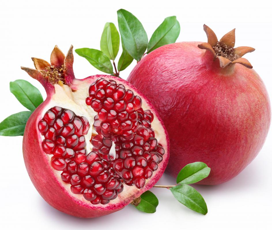 Pomegranate are natural antioxidants and may also be useful beta blockers as well.