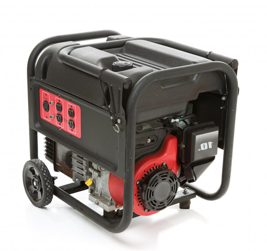 Many people use generators as a guard against blackouts.