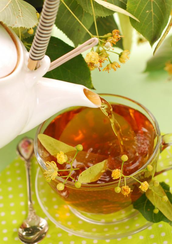Sipping a cup of herbal tea may help set the mood for an at-home spa weekend.