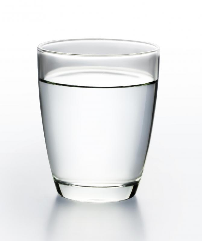 Drinking water can help with dehydration.