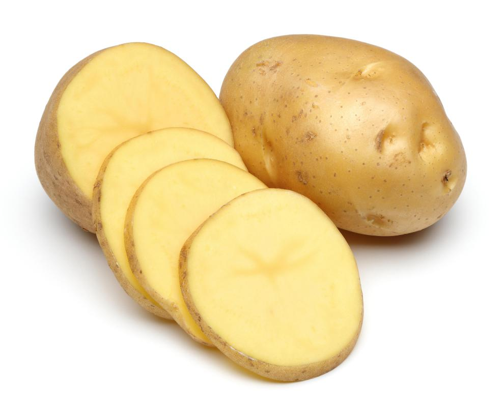 Potatoes are tubers.