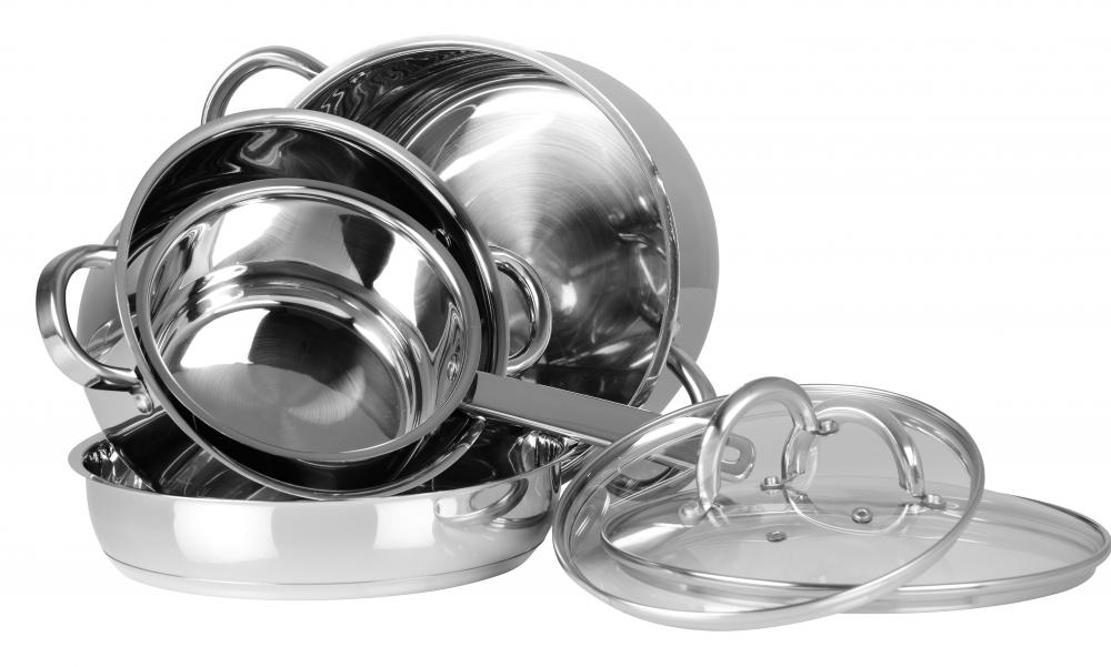Silver steel is used to make cookware.