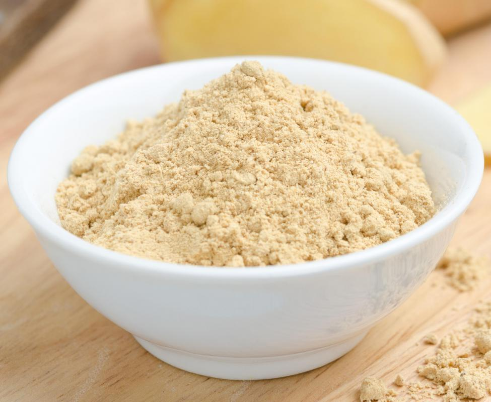 Powdered ginger can be added to tea or  used to flavor food.