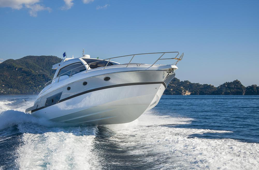 Sport fishing boats often have the luxury and speed of a pleasure boat.