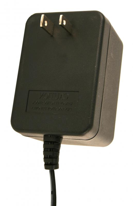A travel charger.