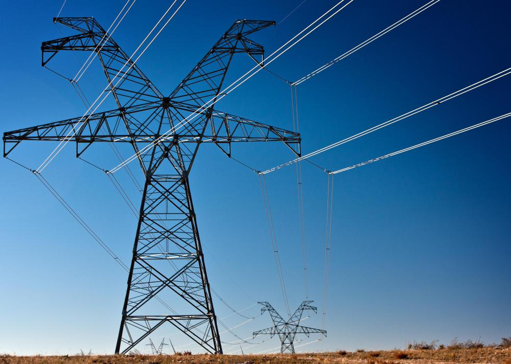 Nuclear power can create electricity that powers electrical grids.