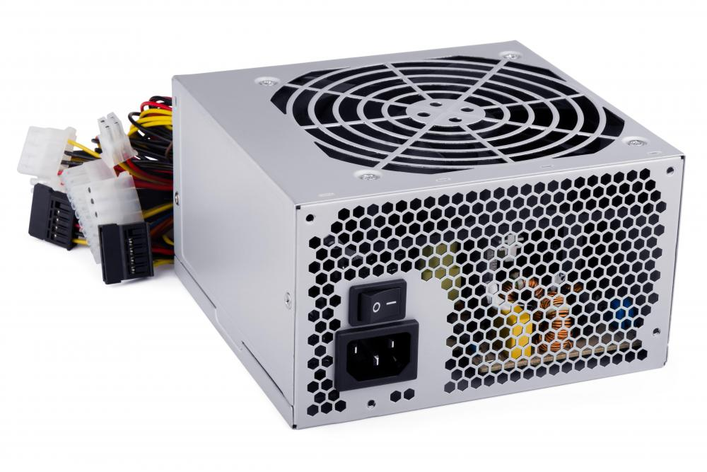 A power supply is one of the basic components commonly found in a barebones PC.