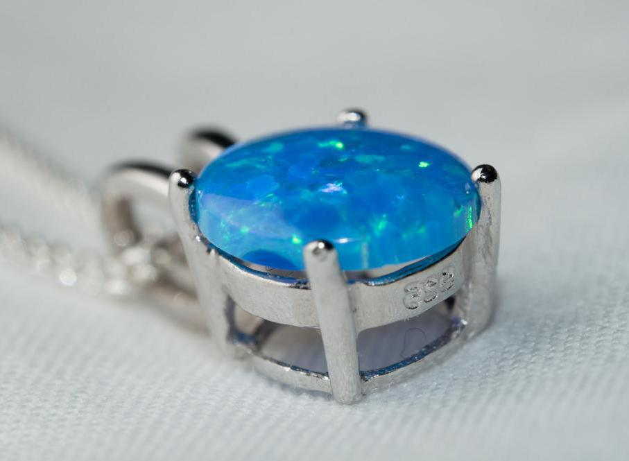 Opals are a type of non-crystalline silica.