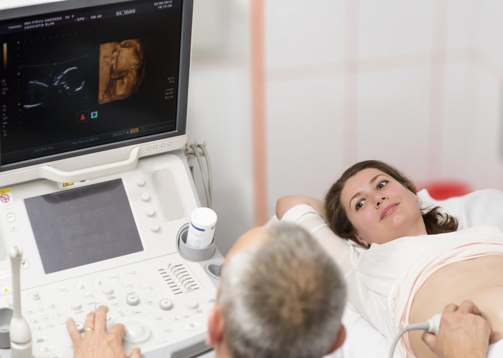 A woman should be at least 28 weeks pregnant before undergoing a fetal stress test.