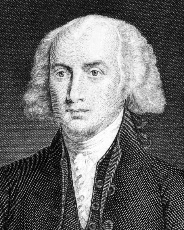"James Madison was one of the authors of ""The Federalist Papers""."