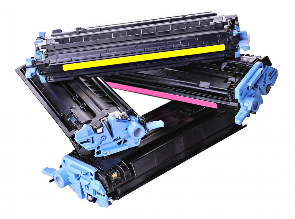 A discount store may offer office supplies, such as printer toner.