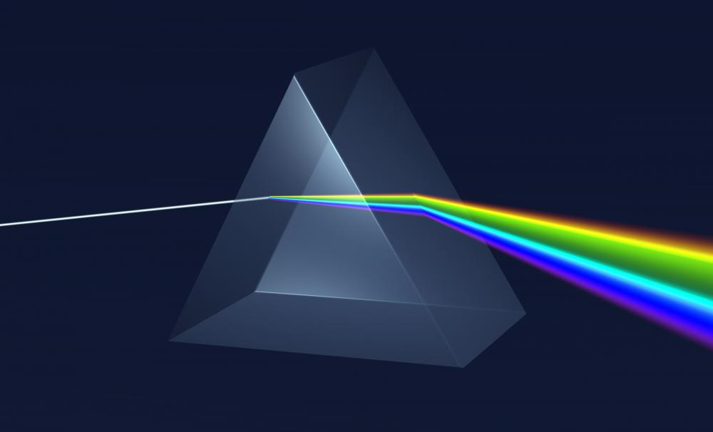 Prisms offer a good example of refraction.