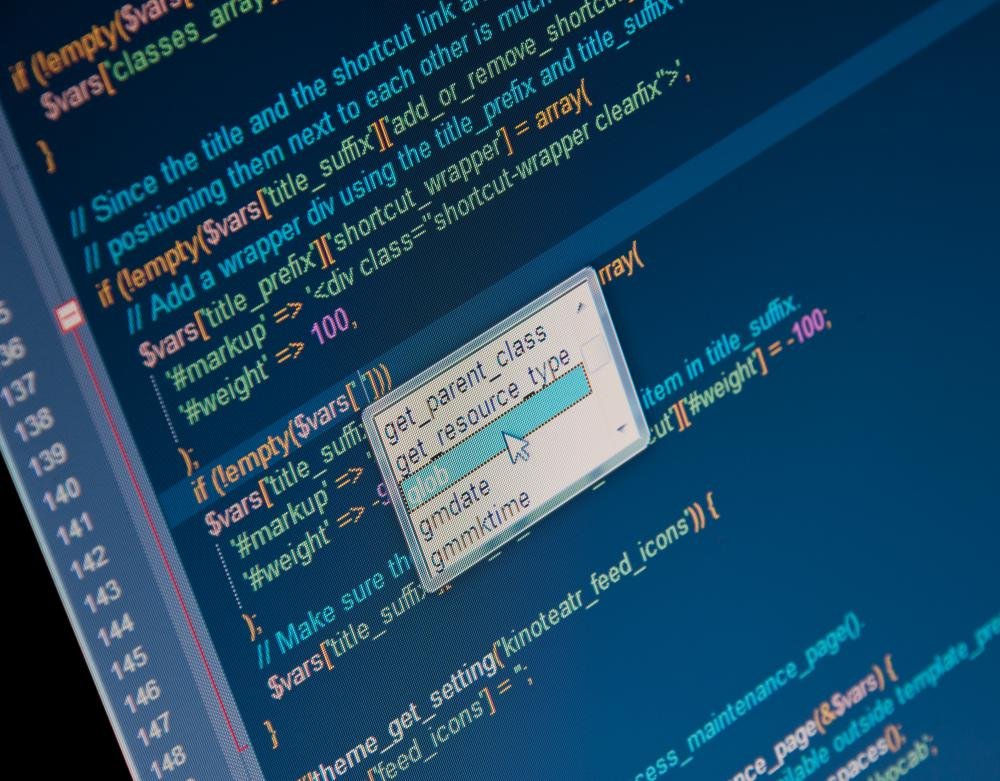 Writing code can help with website optimization.