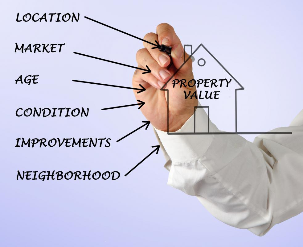 Successful real estate investors understand how property values affect the potential of their investment.
