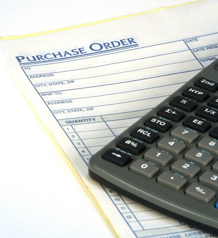 A purchase requisition order is a contract between the company and the vendor.
