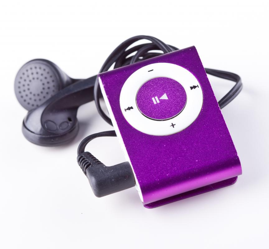 Once transferred to a computer, files can be digitally copied onto an MP3 player.