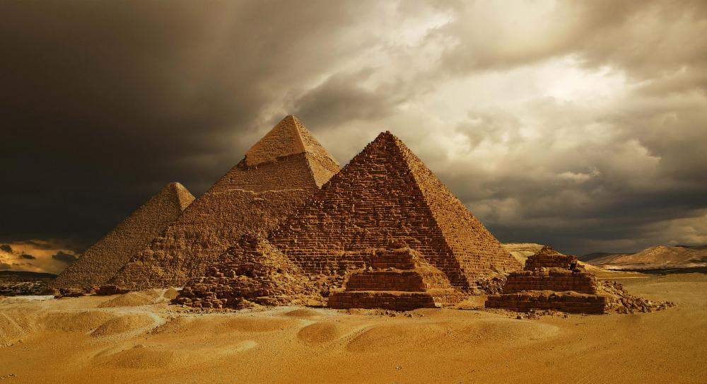 The Great Pyramid of Giza is the only surviving Wonder of the Ancient World.