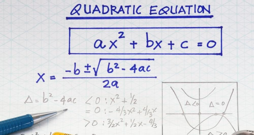 What Is A Quadratic Equation With Pictures