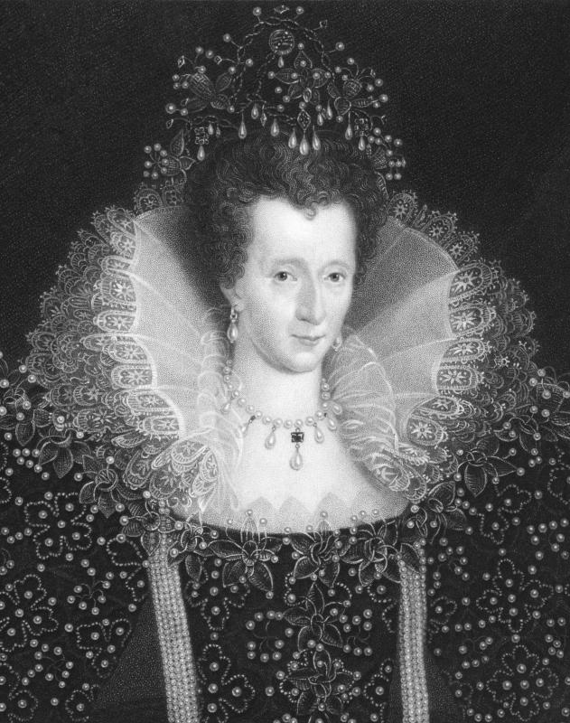 man is said to have first appeared in the court of queen elizabeth iQueen Elizabeth 1 Black And White