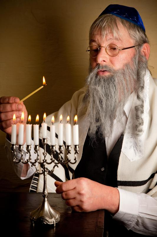 A rabbi is often required to certify food as kosher.