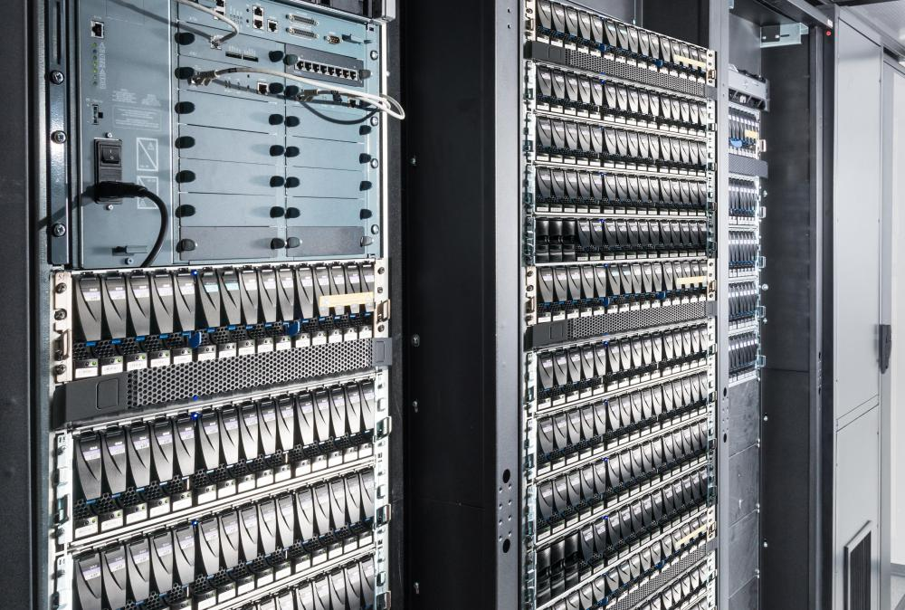 In the past, companies kept physical servers on site that held huge amounts of corporate information.