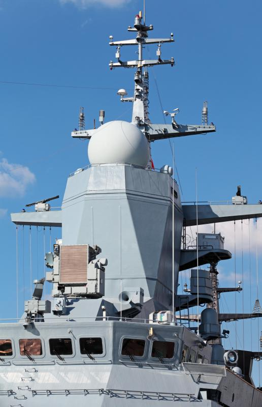 Junior to mid-level naval officers are usually tasked with managing a specific ship subsystem, such as radars.