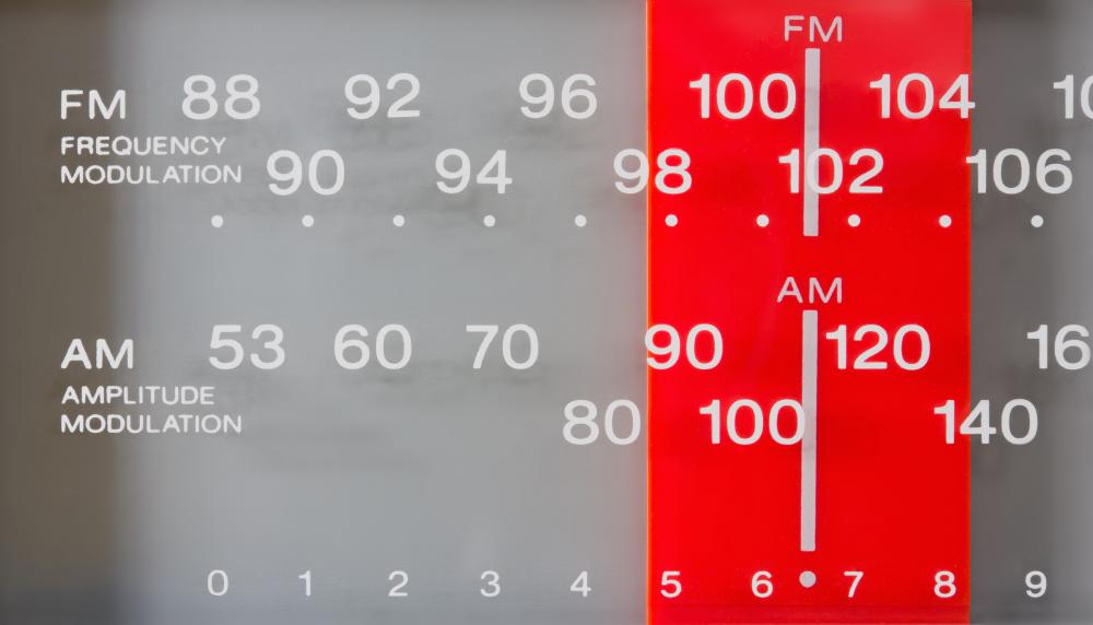 An FM radio has a tuned amplifier that allows listening to only one radio station at a time.