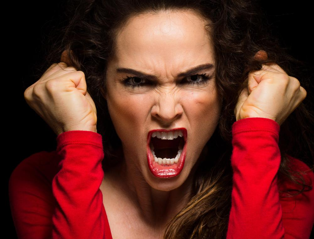 "Being 'hot-blooded"" could refer to someone becoming angry or enraged."
