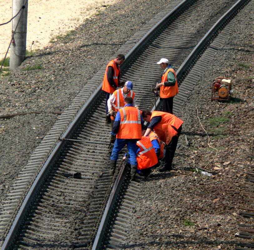 """Fettling"" is a term commonly used to describe the maintenance of railroad tracks."