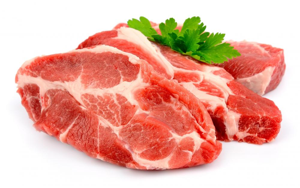 High-quality beef is not necessary for ginger beef.