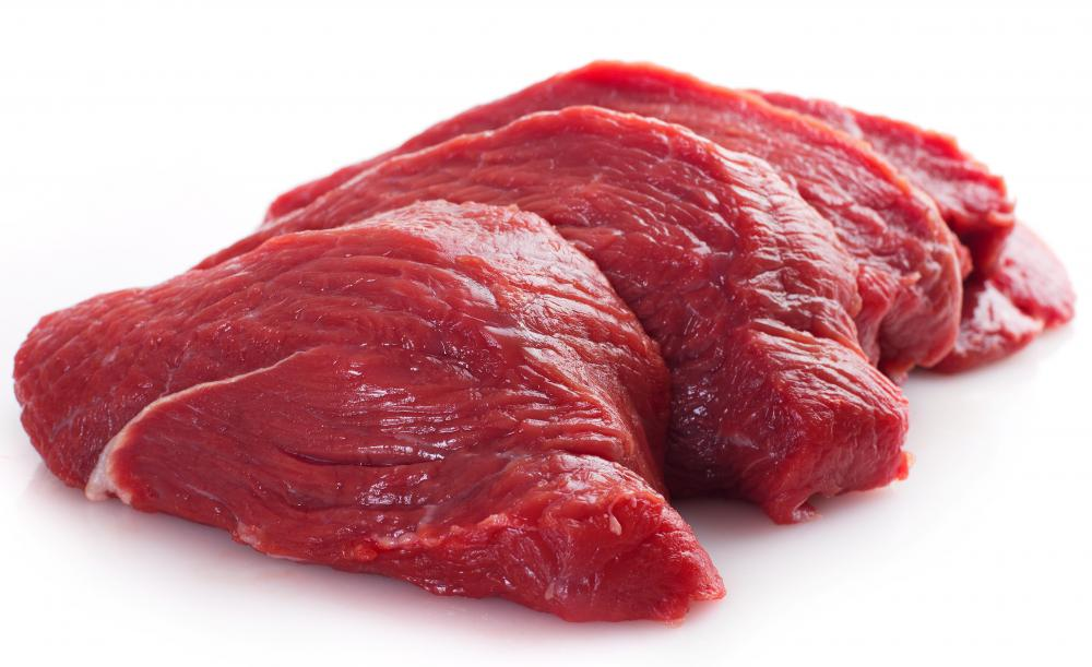 Beef is a common ingredient in mititei.
