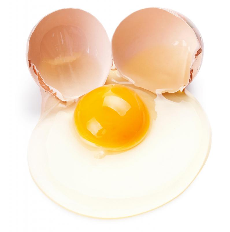 Eggs are considered a low-fiber protein.