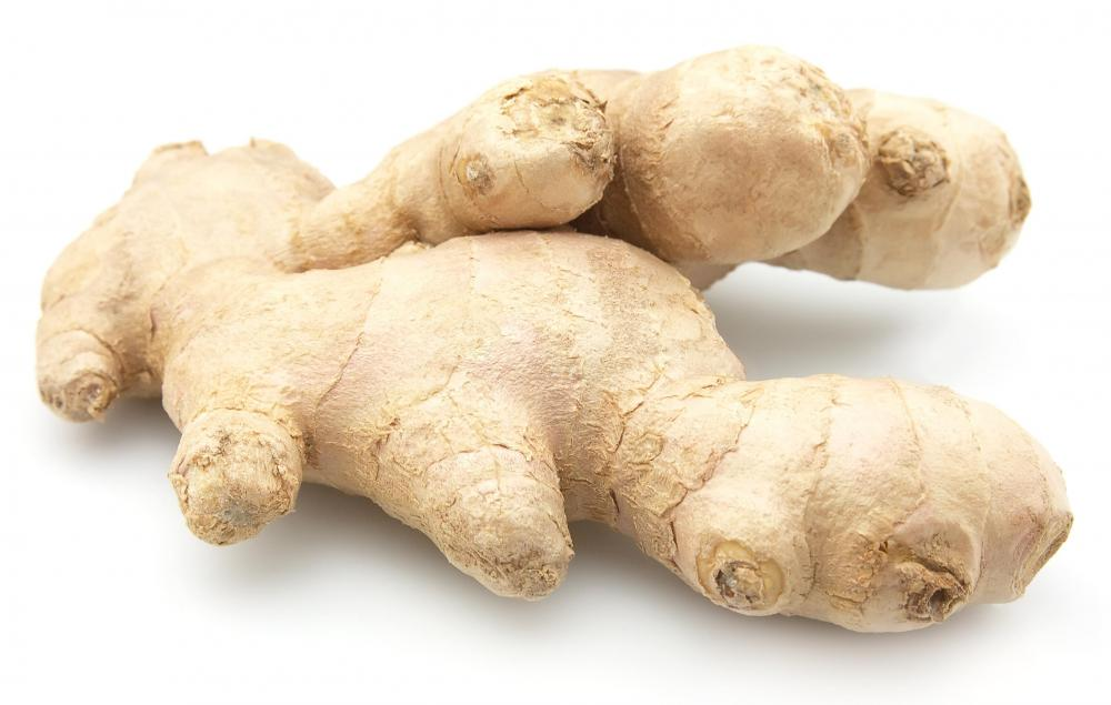 Raw ginger or ginger extract can be used to make soap.