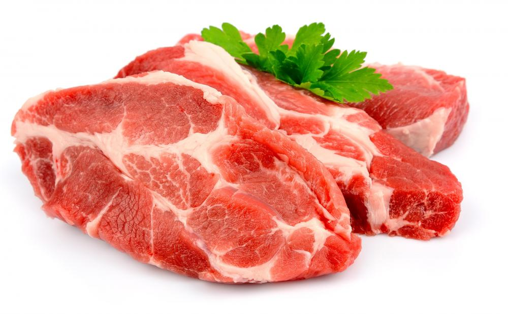 Frozen meat should always be defrosted in the refrigerator.