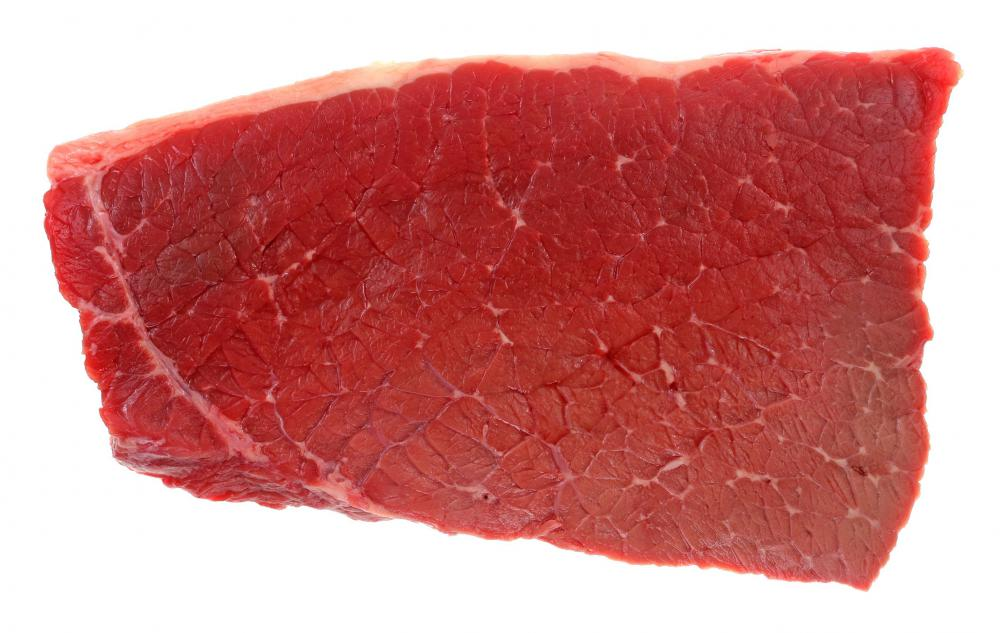 Round steak is typically an inexpensive cut of beef which tastes best when it is cooked slowly.